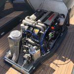 Yanmar 4JH110 Diesel ingebouwd in Atender 72